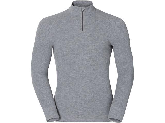 Odlo Active Originals Warm 1/2 Zip LS Shirt Men grey melange